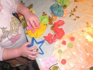 Цветное тесто для лепки своими руками